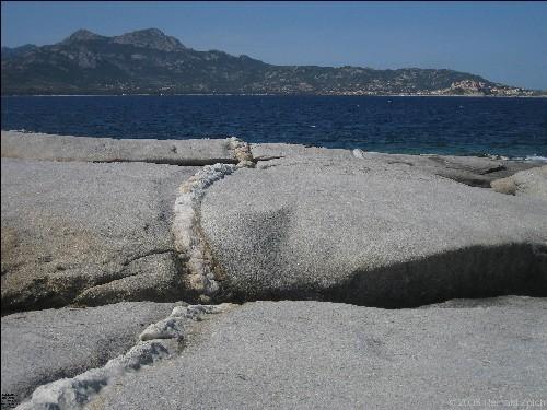 Blick von der Punta Caldanu nach Calvi