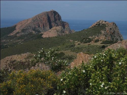 Capu Rossu mit Tour de Turghio