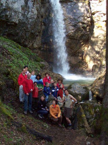 Bislang unbekannter Wasserfall