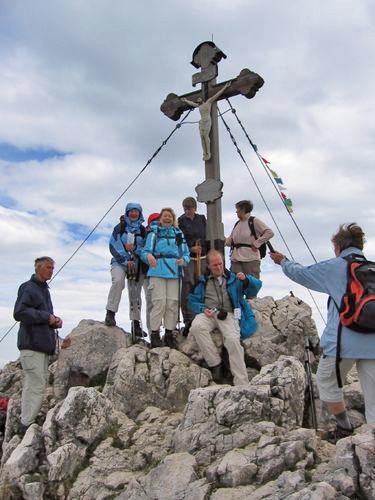 Am Breitenstein-Gipfel