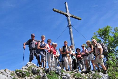 Am Weitlahner-Gipfel