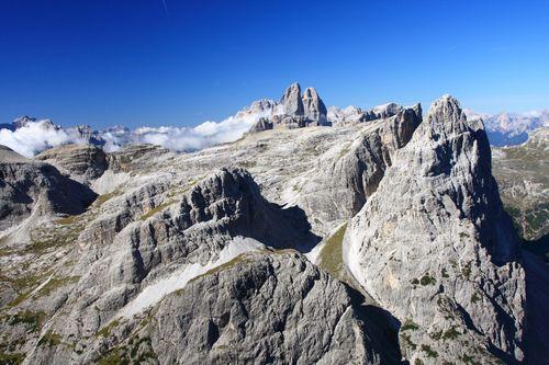 Aussicht am Alpini-Steig