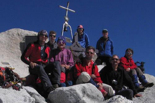 Am Adamello-Gipfel