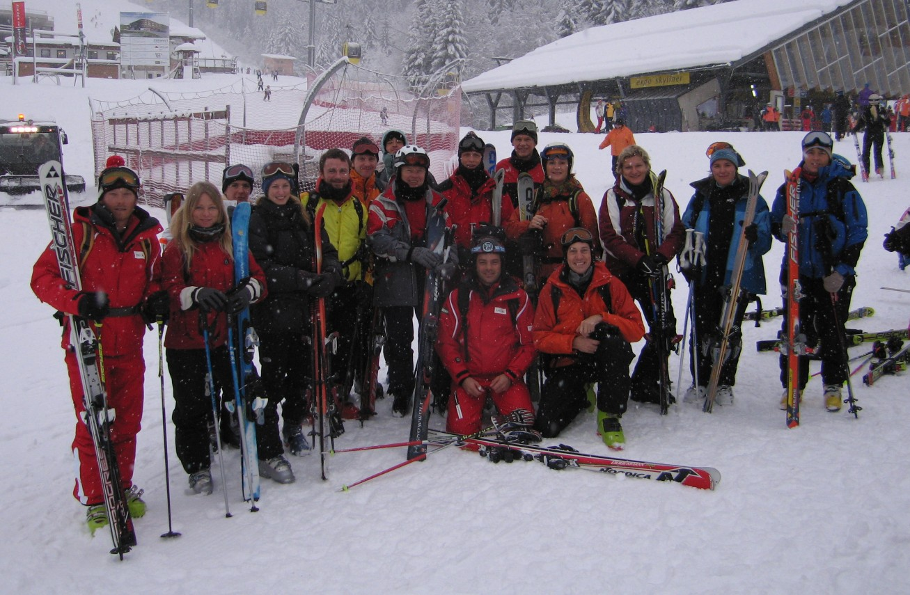 Tiefschneekurs 2008