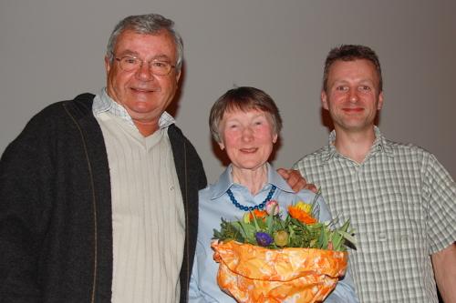 v.l.: Guntram, Erika, Alex