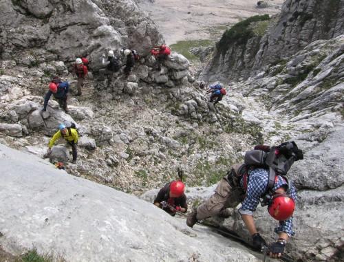 Klettersteig Hochthron : Klettersteig auf den berchtesgadener hochthron « ratsch bladl archiv 2