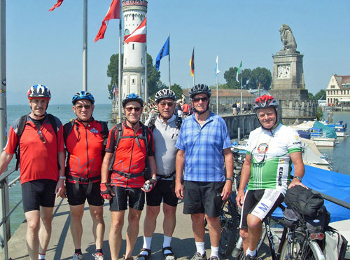 Start am Hafen Lindau