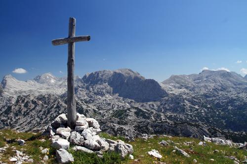 Am Gipfel des Elm