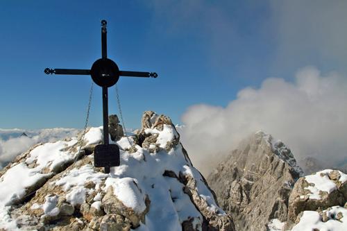 Watzmann-Mittelspitze, Blick zur Südspitze