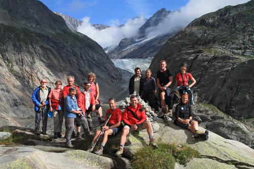 Am Tre-la-Tete-Gletscher