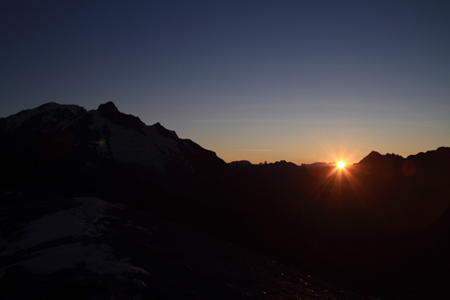 Endlich die Sonne!