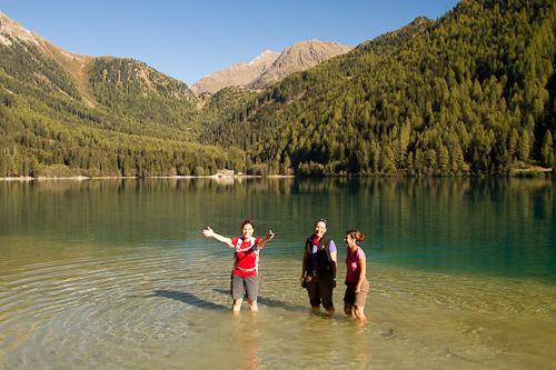 Am und im Antholzer See