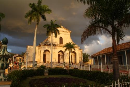 Sonnenuntergang in Trinidad