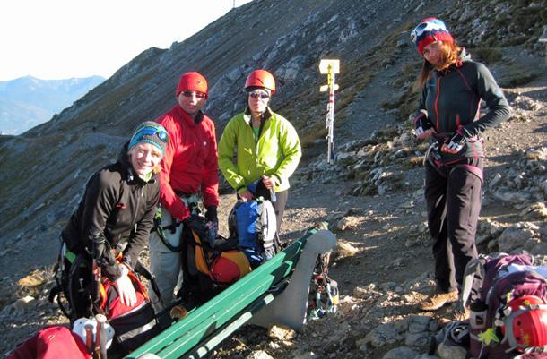 Klettersteigset Einbinden : Test ergo zip klettersteigset von salewa bergsteigen