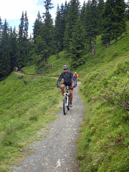 Trail an der Asitz