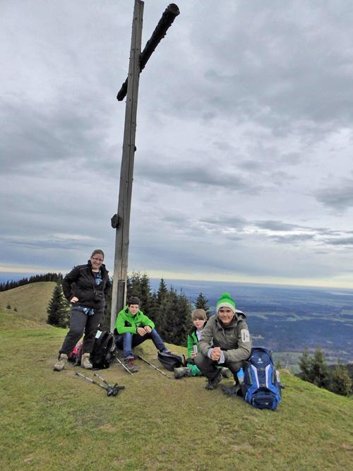 Am Hörnle-Gipfel