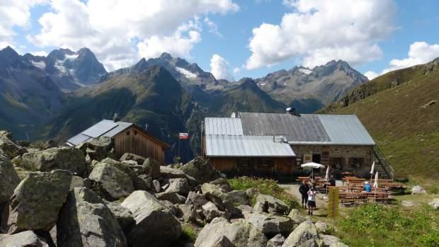 Rüsselsheimer Hütte (sehr zu empfehlen)