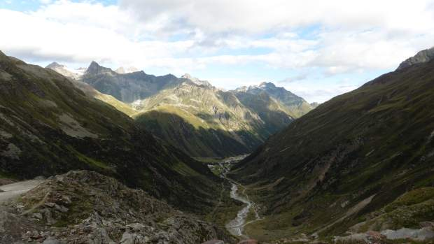 Blick Richtung Mittelberg