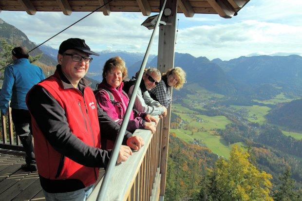 Am Tressenstein-Aussichtsturm