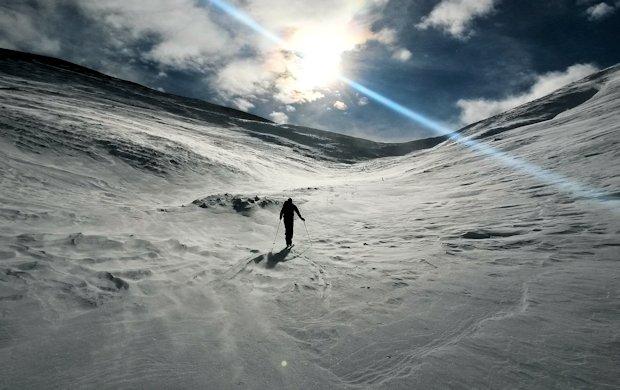 Eiswüste vorm Wildfeld