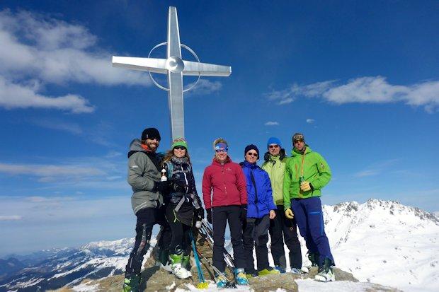 Gipfelfreude auf dem Tristkopf