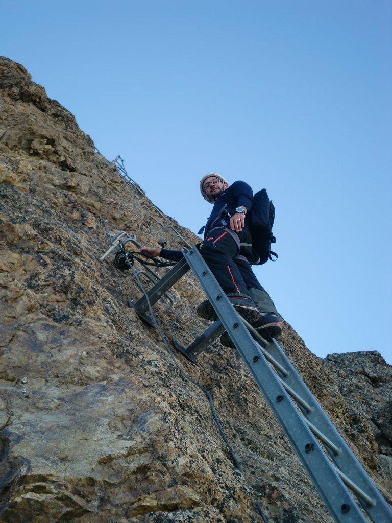 Foto 30 - Tobi auf der Leiter