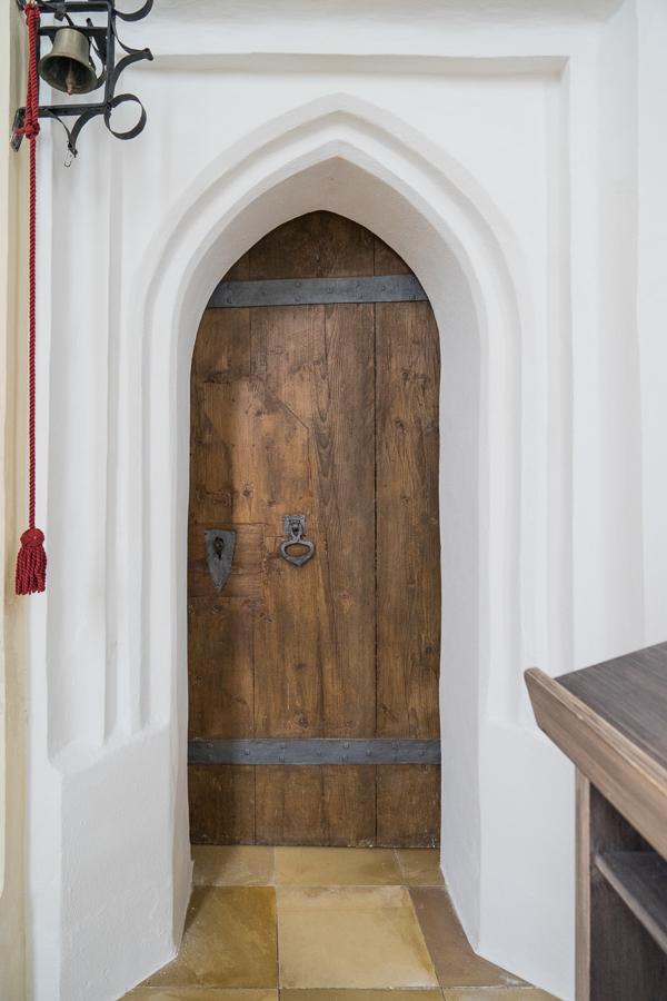 Sakristei Türe aus Eiche aus 1520