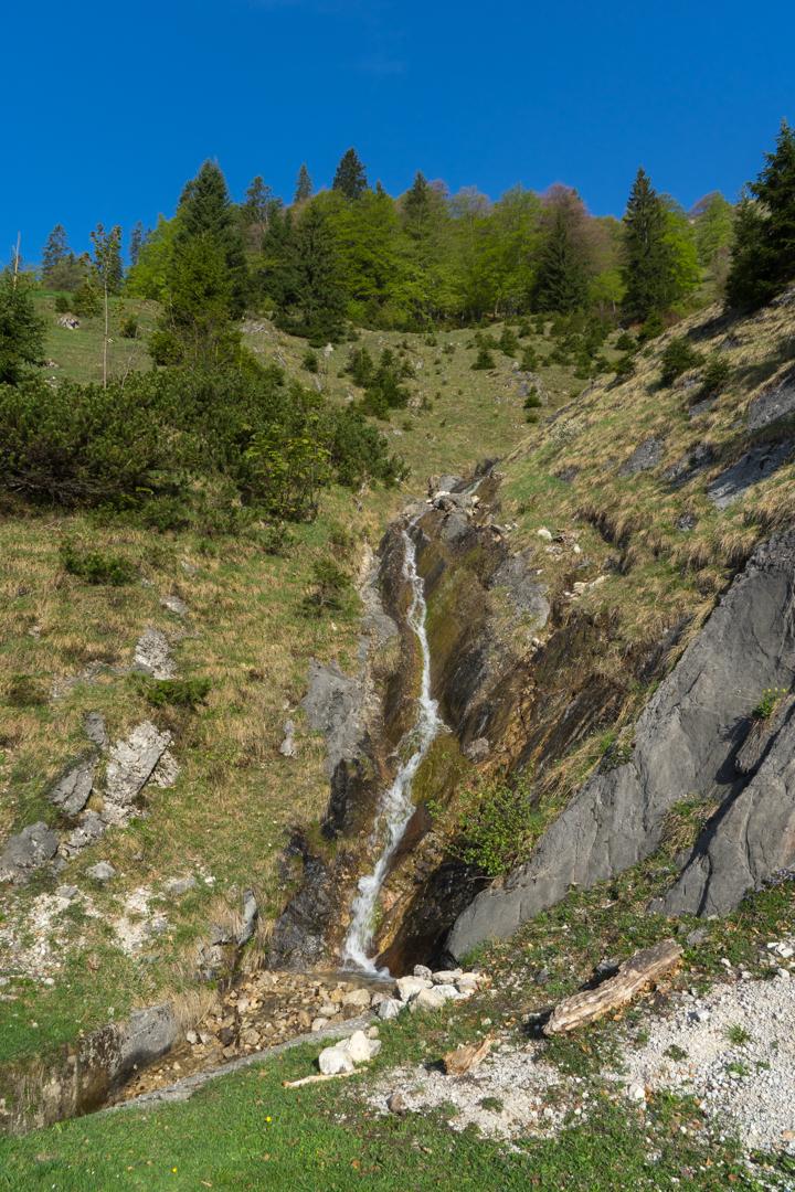 Wasserfall bei Veitsbergalm