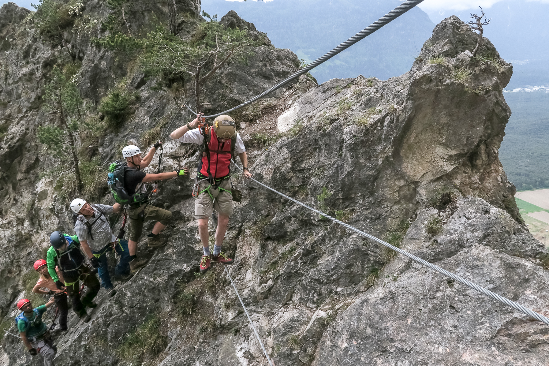Klettersteigkurs : Klettersteigkurs ratsch bladl
