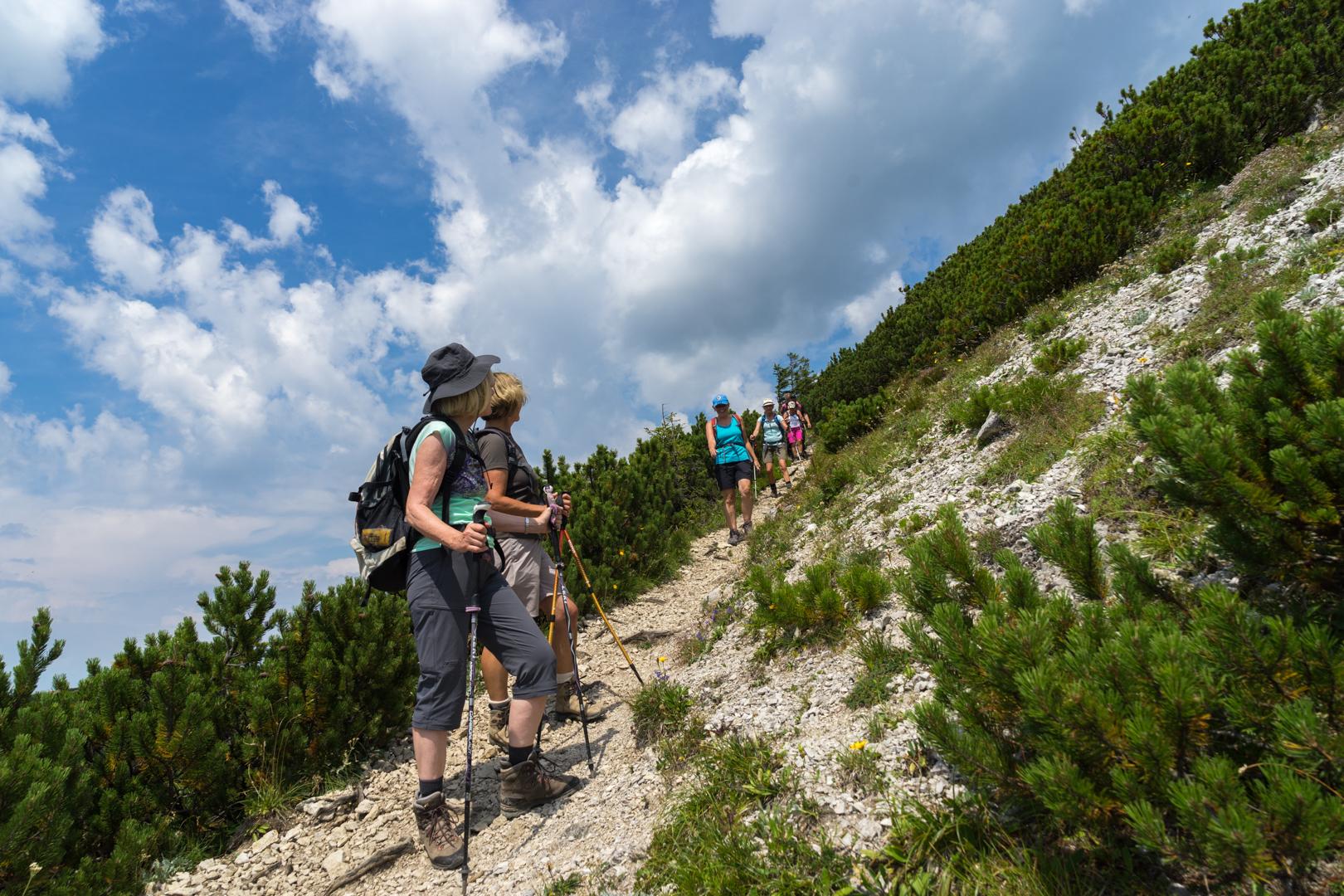 Abstieg vom Geigelstein